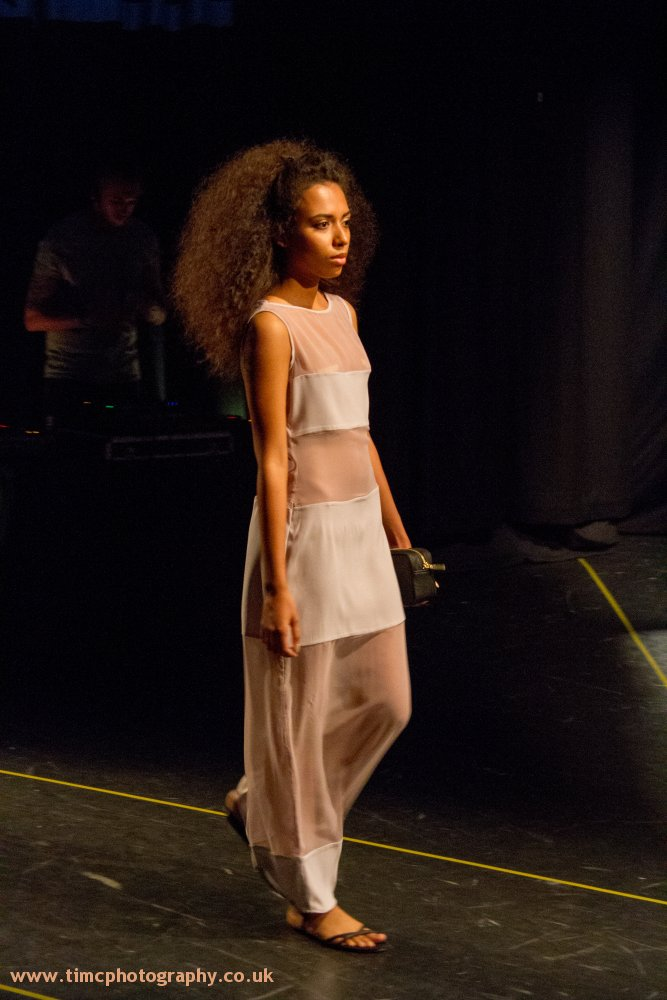 Shot a runway fashion show at South Essex College – June2014