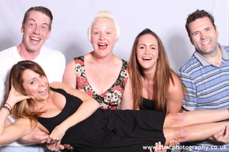 Photos with the cast of comedy Life's a DRAG
