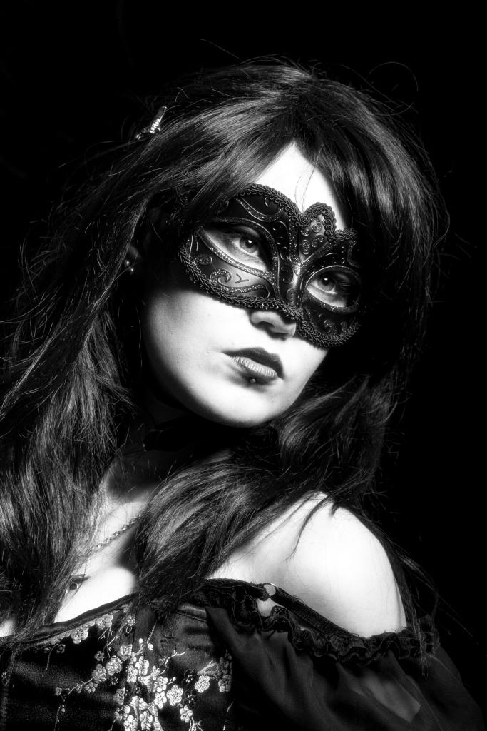 The masque.