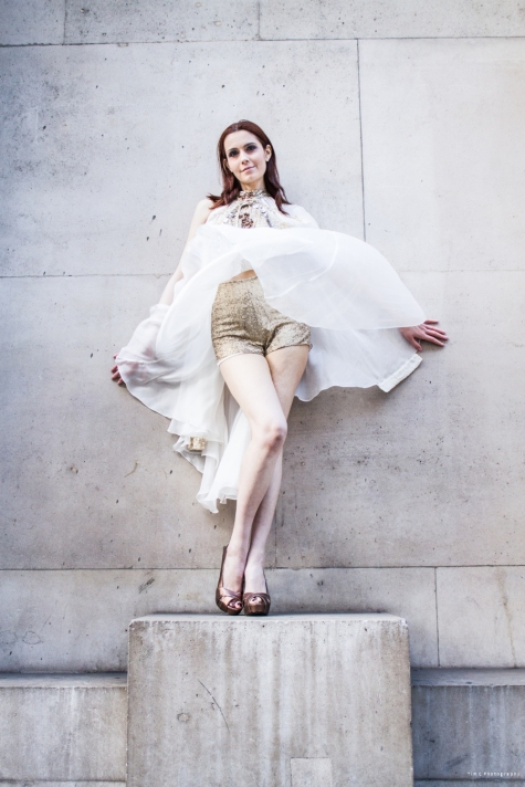 DAMA  Photo Shoot For Designer - Agnieszka Klaput Model - Christina Vyas@dama Photographer - Tim Copsey Creative Director - Tim Copsey Asst - DeighAlex
