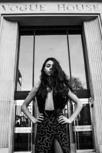 (DAMA) Photo/Shoot For Designer - Khloe Nova Model - Sophie Parkes@dama Photographer - Tim Copsey Creative Director - Tim Copsey Asst - DeighAlex Location - Central London