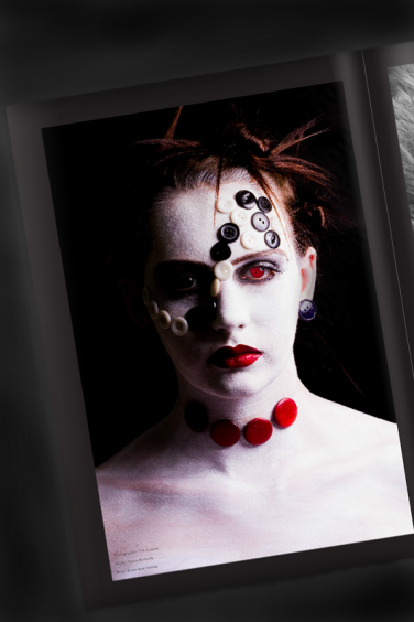 Model: Rosey Metcalfe. MUA: Bridie Bows Makeup. Photographer: Tim Copsey