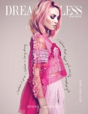 "Dreamingless Magazine Front Cover. ""PLUSH PASTEL"" photographer JAYDEN FA jaydenfa.carbonmade.com model CHRISTINE LEIGH at NEVS MODELS LONDON styling DANIELA SUAREZ danielasuarezstylist.com styling assistant LEANNE ROCHE mua CHRISTIANA HOWELL hair stylist MICHELLE BRETT post production JESUS VILCA jesusvilcaretouch.com wearing; shoes TOPSHOP crop top, top & skirt JESSICA SHAW socks RIVER ISLAND bracelet & rings CAROLINE CREBA"