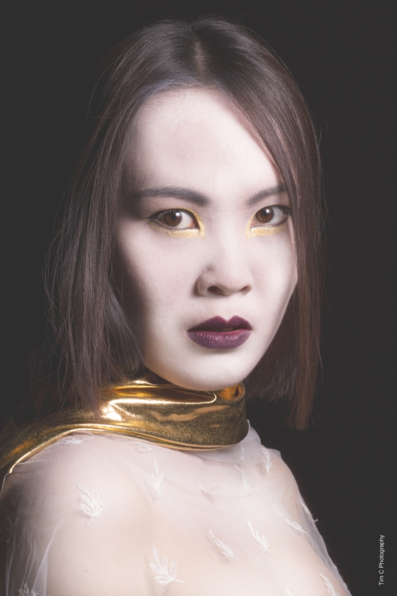 Model: Ping-Han Chen MUA: Hollie Lang Photographer: Tim Copsey