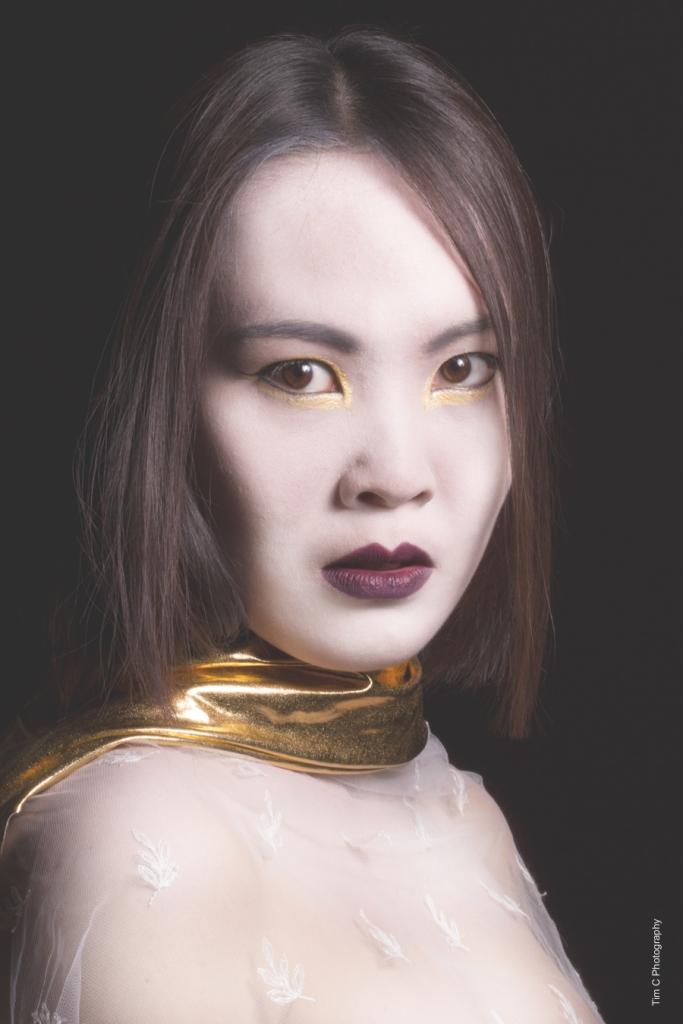 Model: Ping-Han Chen MUA: Hollie Lang Photographer: Tim Copsey