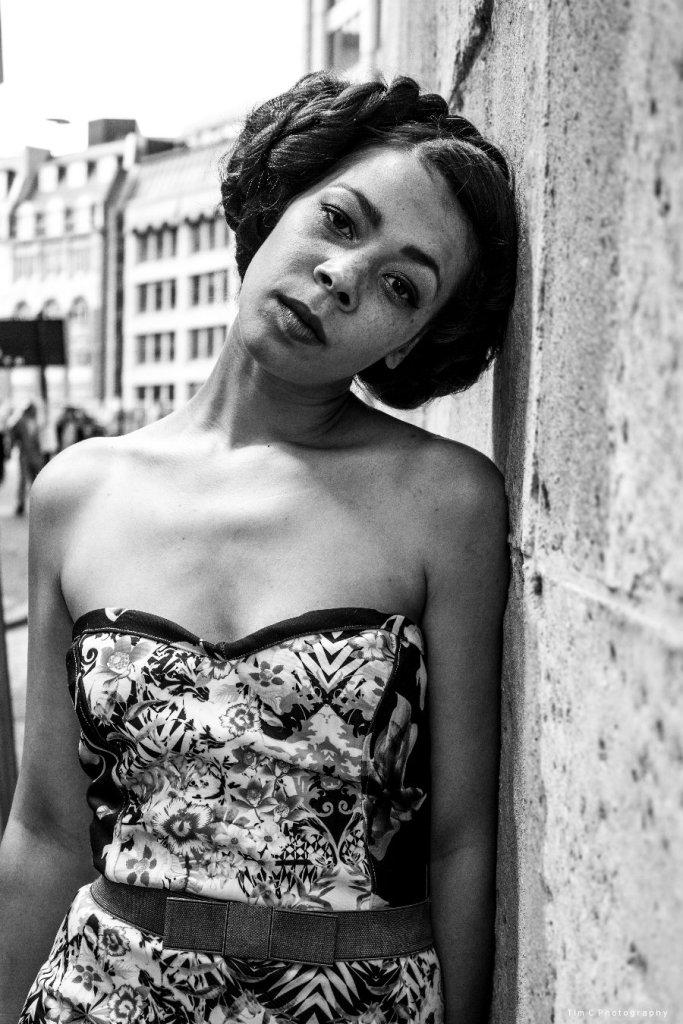 Francisca Serrette wearing Mary Martin. Photographer Tim Copsey