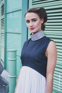 Designer: Chanel Joan Elkayam Model: Ania Ka