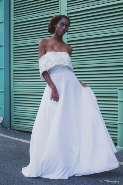 Designer: Chanel Joan Elkayam Model: Jesika July