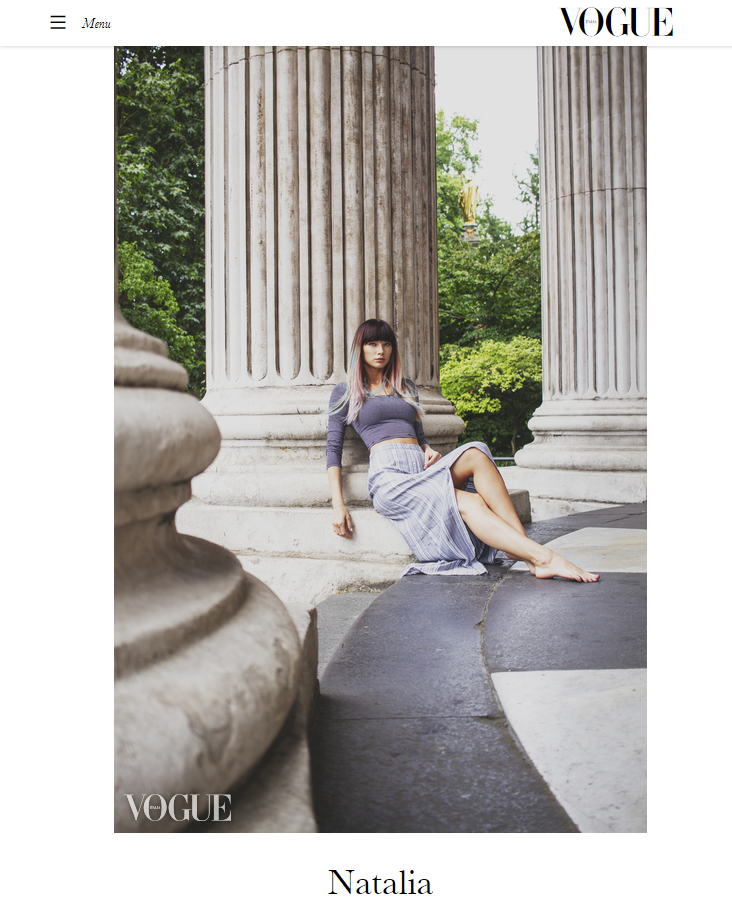 Tim Copsey Vogue Italia. Photography by Photography by London Fashion Photographer Tim Copsey