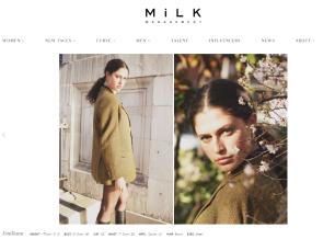 Emiliana MiLK Model Management by London Fashion Photographer Tim Copsey