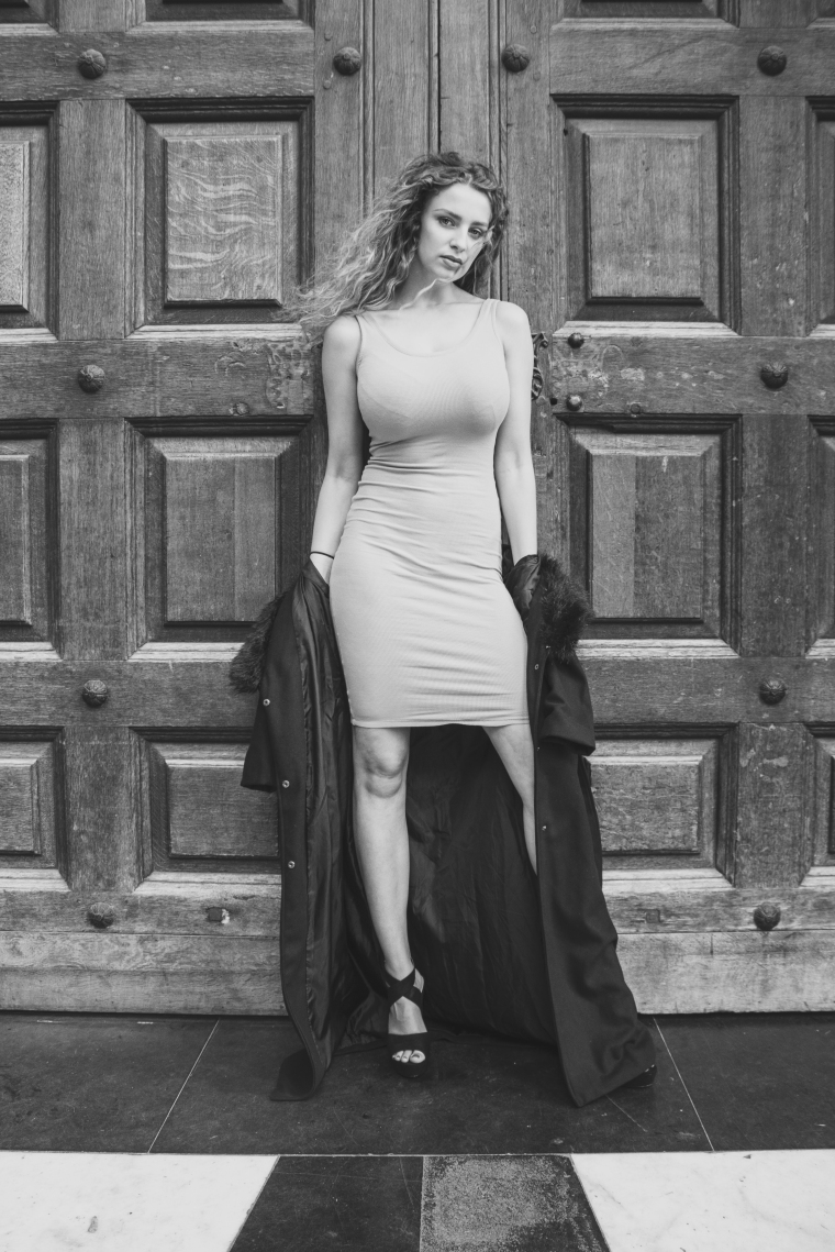 Izzy (BMA Models) by London fashion photographer Tim Copsey