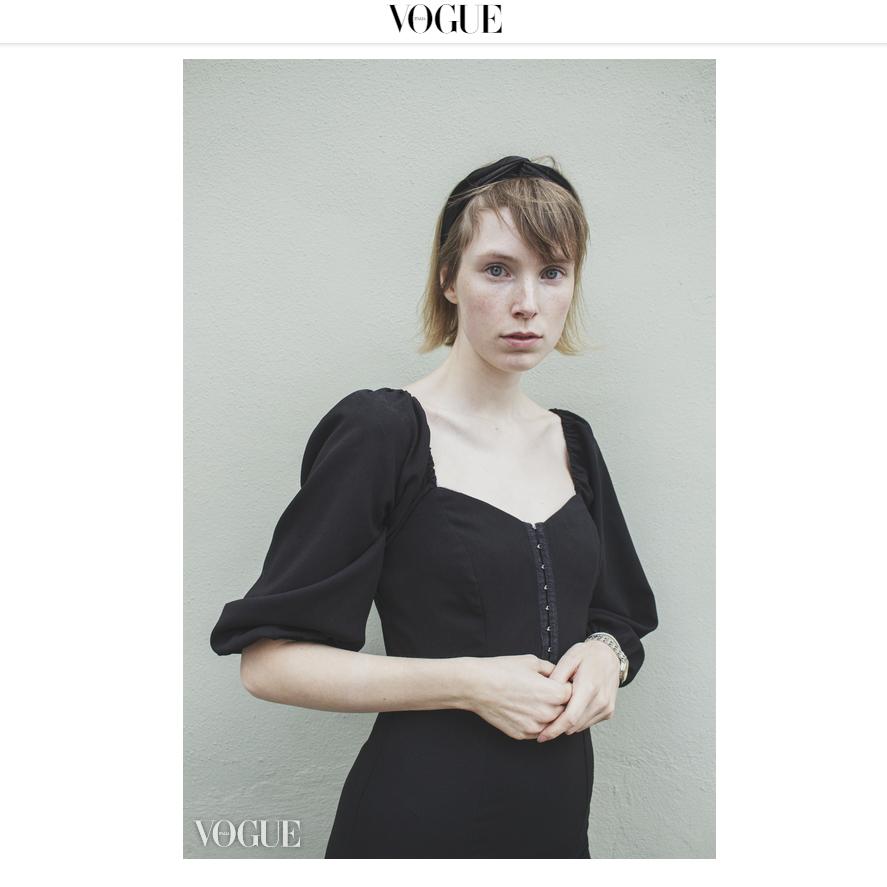 Model Harriet (MiLK Model Management) Photographer: Tim Copsey Vogue Italia website
