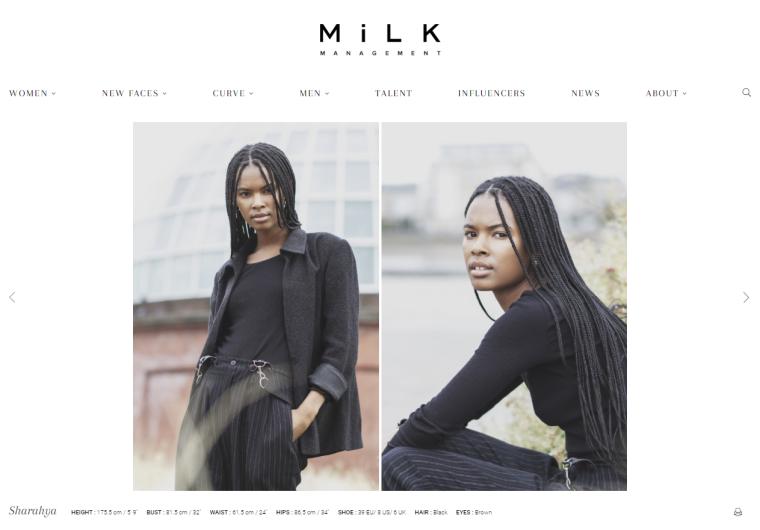 Sharahya2 MiLK Model Management